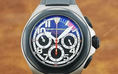 Girard-Perregaux - Titanium BMW Oracle Racing Laureato USA 98 Flyback Chronograph GMT Limited Edition- Ref. 80175 - Men - 2000-2010