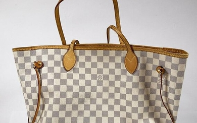 LOUIS VUITTON Neverfull MM N51107 Tote Bag