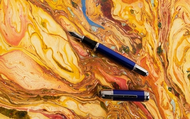 MONTBLANC Writers Series JULES VERNE Fountain Pen