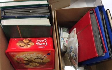 MOSTLY AUSTRALIA, PLUS SOME NEW ZEALAND - Two cartons contai...