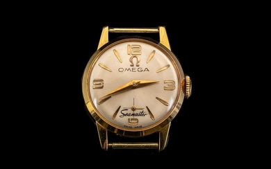 Omega Seamaster 18ct Gold Ladies Mechanical Wind Watch Case ...