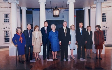 PRESIDENTS OF THE UNITED STATES AND FIRST LADIES