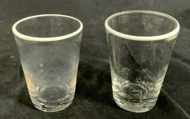 Pair of drinking glasses