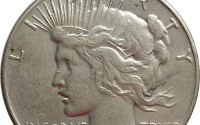 Piece Dollar 1935, United States, Scarce Date, Silver