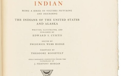 Prospectus for Curtis' North American Indian