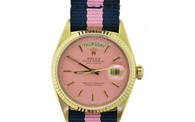 Rolex Day Date Pink Dial