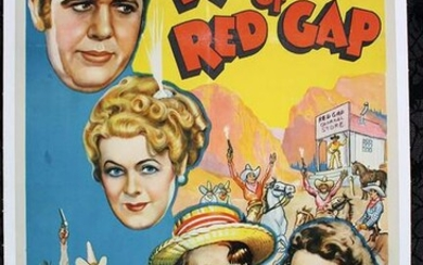Ruggles Of Red Gap (1935) US One Sheet Movie Poster LB