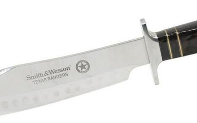 """SMITH & WESSON TEXAS RANGERS BOWIE KNIFE, 15.5"""""""