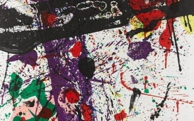 "Sam Francis - Untitled from ""Eight by Eight"""