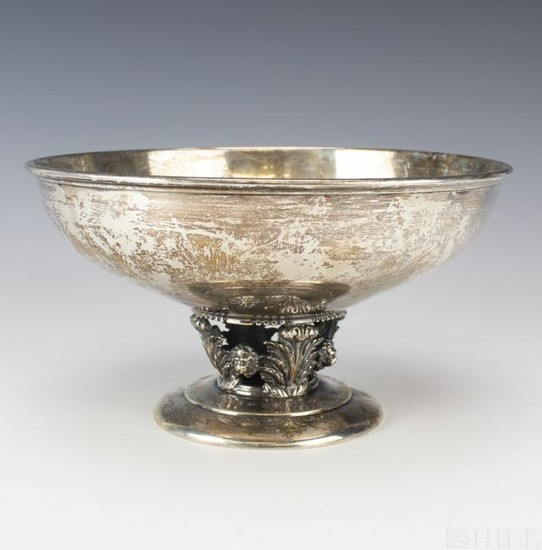 Sterling Silver Reticulated Centerpiece Bowl 900gr