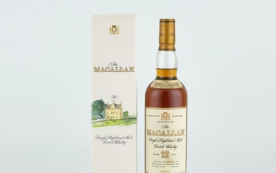 The Macallan 12 Year Old 43.0 abv NV (1 BT70)
