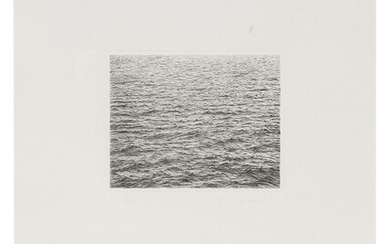 Vija Celmins: Drypoint - Ocean Surface