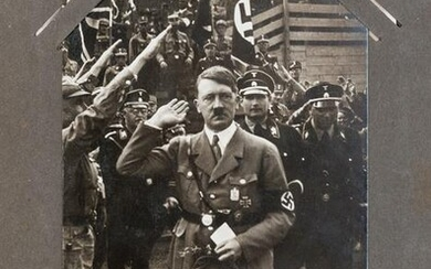 [WWII] Collection of Adolf Hitler Real Photo Postcards.
