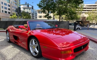 1999 FERRARI F355 SPIDER 6 SPEED CHERRY RACING RED 8