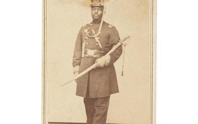 CDV of African American Senior Officer