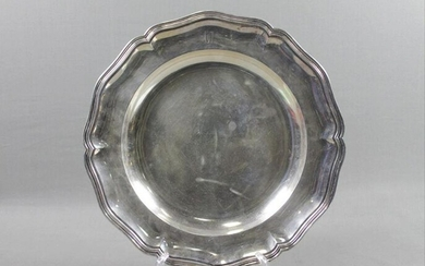 .800 Silver Footed Dish