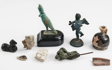 (9) Pcs Reproduction Anthropological Items