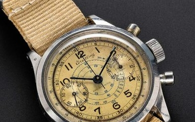 A RARE GENTLEMAN'S STAINLESS STEEL BREITLING