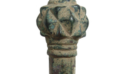 A pleasing Near Eastern bronze mace head