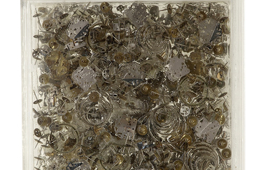 ARMAN (1928-2005) TEMPS II, 1976 Accumulation de rouages...