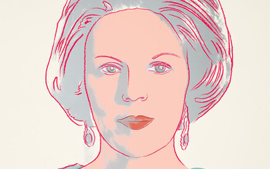 Andy Warhol, Queen Beatrix of the Netherlands, from Reigning Queens (F & S. 339)