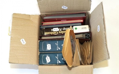 Box GB Clear-out 3 stock books from QV - QE2...