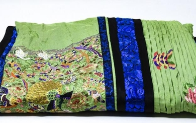 Chinese Silk Embroidered Skirt / Apron