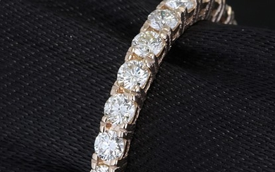 Eternity ring with brilliant cut diamonds 1.26ct