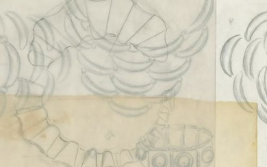 Fifteen jewelry design sketches attributed to Antonio