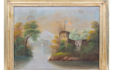 G. Smith (AMERICAN, 19th CENTURY) Fortress on the River