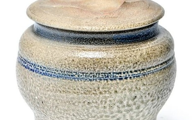 Karen Karnes Stoneware Art Pottery Covered Jar