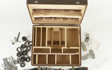 Large Group of Linhof Technika Lens Boards and Others