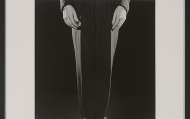 MAPPLETHORPE, ROBERT (1946-1989) Shoes on plates,