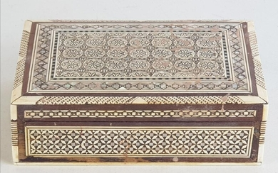 Mother-of-Pearl Inlaid Indian Jewellery Box
