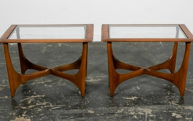 Pair, Adrian Pearsall for Lane Side Tables
