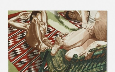 Philip Pearlstein, Models with Mirror