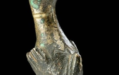 Roman Bronze Dolphin Furniture Leg / Attachment