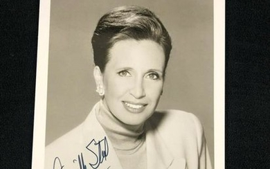 Signed Photograph and Letter from Danielle Steel