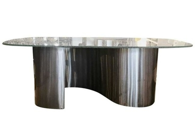Spiral-Base Coffee Table