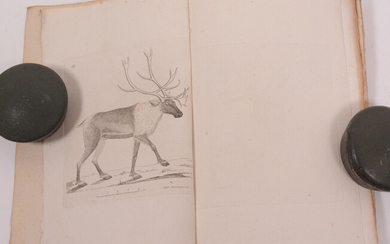 Swedish zoology, published by JW Palmstruch. With text started by C. Quensel. And continued by O. Swartz. Booklet 7-11 with uncolored engravings.