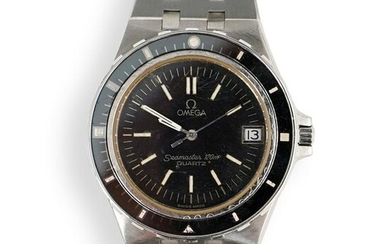 Vintage Omega Seamaster Stainless Watch