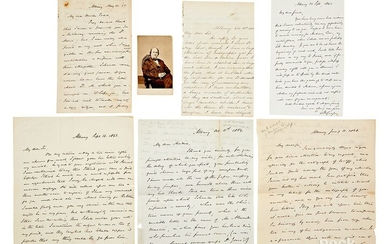William Buell Sprague, five signed letters