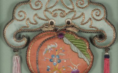 10 Chinese Embroidered and Woven Silk Articles