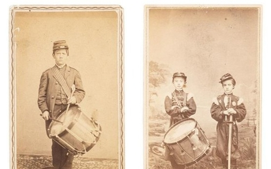 Civil War Drummer Robert Hendershot, 8th Michigan