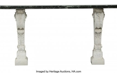 61043: A French Regence-Style Marble Console Table, 19t