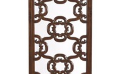 A CHINESE WOODEN TRANSOM PANEL QING DYNASTY (1644-1912), CIRCA 18TH/19TH CENTURY