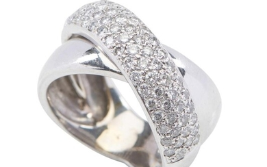 A DIAMOND DRESS RING BY ANTON