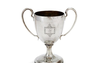 A George III Irish silver twin handled cup by William Doyle