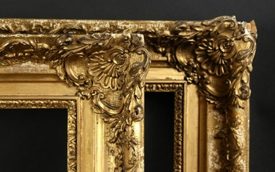 "A Pair of 19th Century Composition Frames, 12"" x 48"""