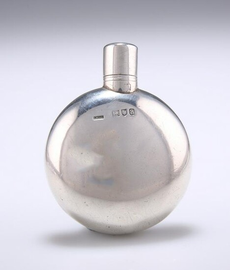 A VICTORIAN SILVER SCENT FLASK, by Sampson Mordan & Co